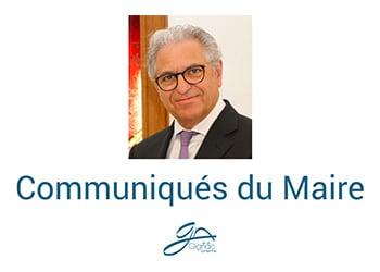 Communiqués du Maire